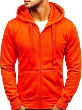 Oranžová pánská mikina s kapucí Bolf AK50A ec42bdd166a