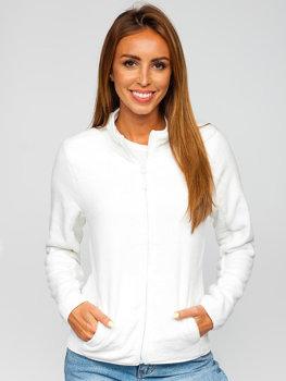 Bílá dámská fleecová mikina Bolf HH001