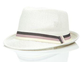 Bílý pánský klobouk Bolf CZ31A