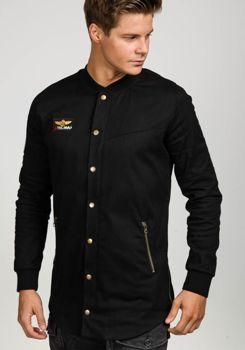 Černá pánská přechodná bunda Bolf 0781