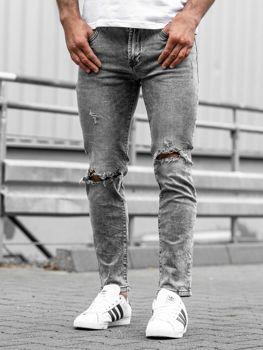 Černé pánské džíny Bolf KA897