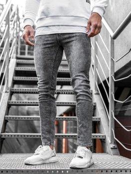 Černé pánské džíny Bolf KX189