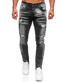 Černé pánské džíny regular fit Bolf R911