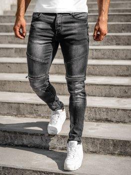 Černé pánské džíny slim fit Bolf R31004S0