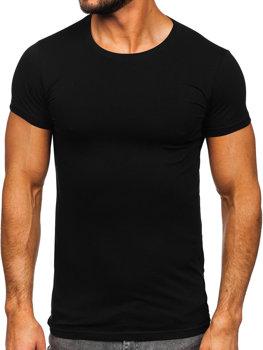 Černé pánské spodní tričko Bolf 9012