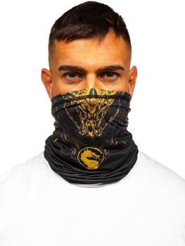 Černý pánský šátek Bolf YW0514M