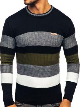 Černý pánský svetr Bolf 04