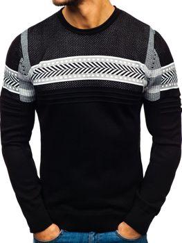 Černý pánský svetr Bolf 1016