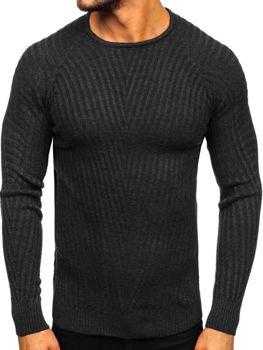 Černý pánský svetr Bolf 285