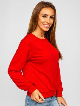 Červená dámská mikina Bolf WB11002