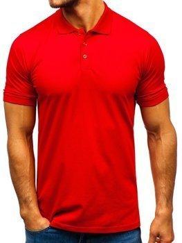 Červená pánská polokošile Bolf 9025