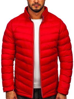 Červená pánská sportovní zimní bunda Bolf 1100