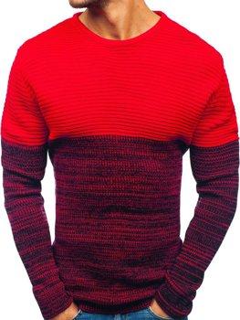 Červený pánský svetr Bolf 164