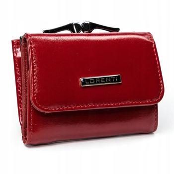 Dámská červená kožená peněženka 2908