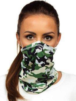 Khaki maskáčový šátek Bolf YW0506
