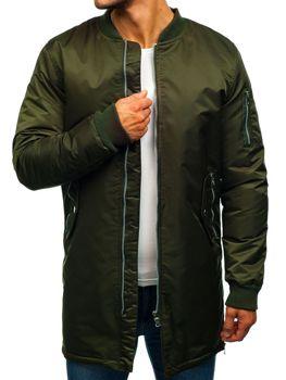 Khaki pánská přechodná bunda Bolf AK903
