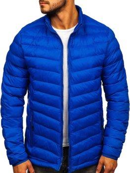 Modrá pánská sportovní zimní bunda Bolf SM70