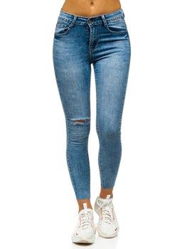 Modré dámské džíny Skinny Bolf S3336