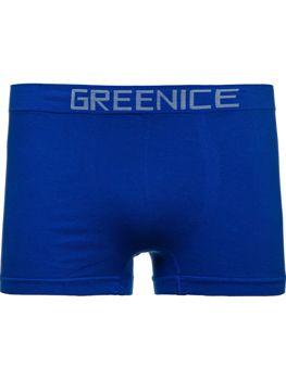 Modré pánské boxerky Bolf PL4501
