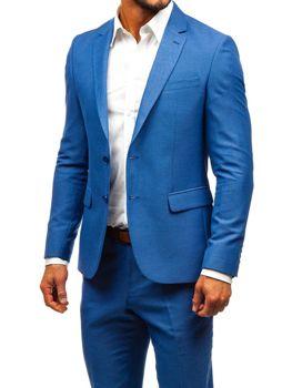 Modry pánsky oblek Bolf 19200-1