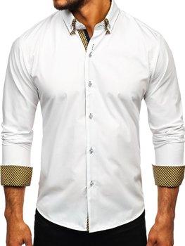 43a483f61f2 Pánské košile bez vzoru - jednobarevné