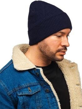 Tmavě modrá pánská čepice Bolf YN5