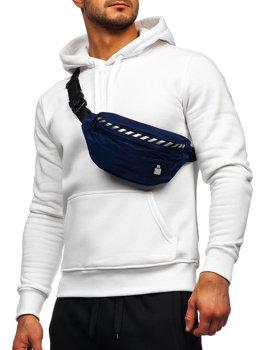 Tmavě modrá pánská taška ledvinka Bolf NR79