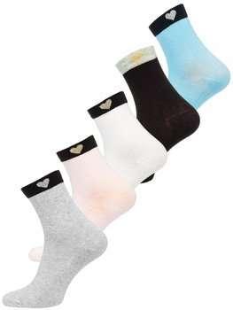 Vícebarevné dámské ponožky Bolf X20305-5P 5 PACK