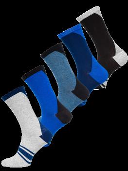 Vícebarevné pánské ponožky Bolf X10137-5P 5 PACK