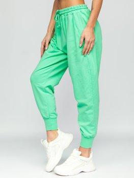 Zelené dámské tepláky Bolf 0011