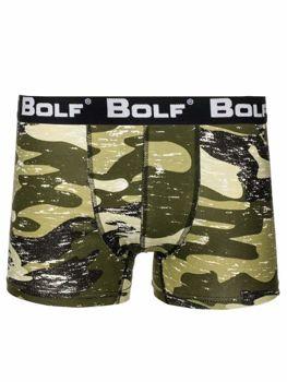 Zelené pánské boxerky Bolf 0953-4