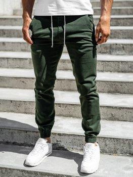 Zelené pánské jogger kalhoty Bolf CT8808