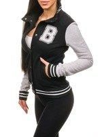 Černá dámská mikina Bolf 19S