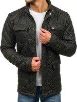 Černá pánská zimní bunda Bolf 019