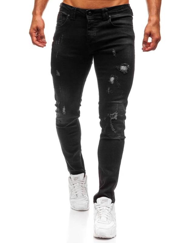 Černé pánské džíny Bolf 8007