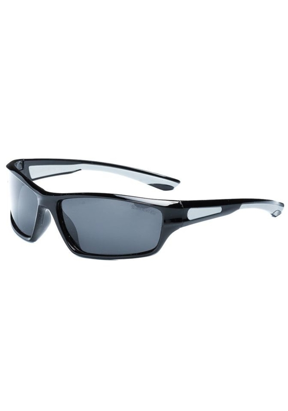 Černo-šedé pánské sluneční polarizační brýle Bolf PLS002A