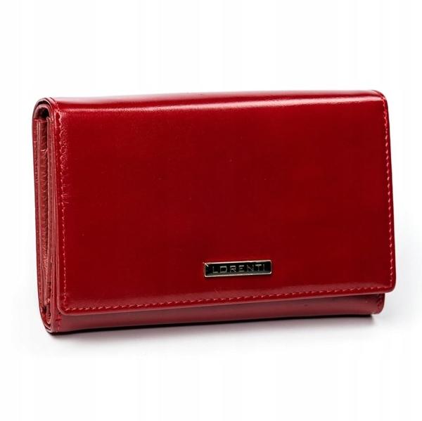 Dámská červená kožená peněženka 2905