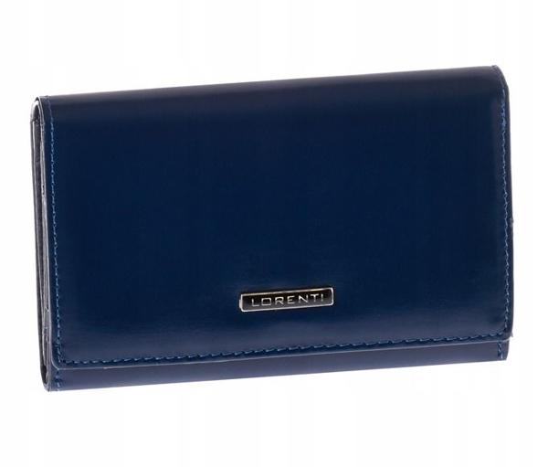Dámská tmavě modrá kožená peněženka 1001
