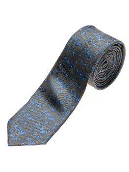 Grafitová pánská elegantní kravata Bolf K105