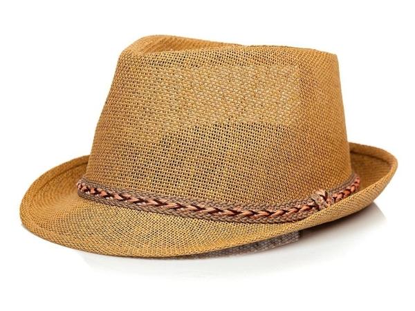 Hnědý pánský klobouk Bolf KAP214-1