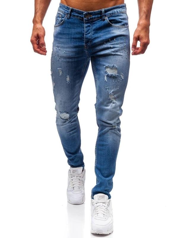 Modré pánské džíny Bolf 1008