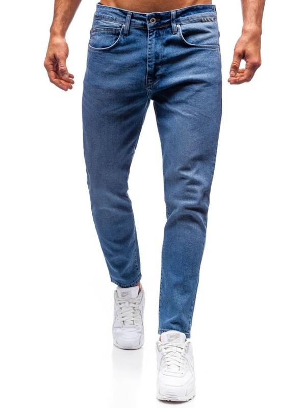 Modré pánské džíny Bolf 7157