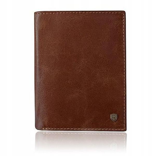 Pánská hnědá kožená peněženka 920
