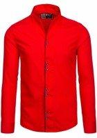 Pánská košile BOLF 5720-1 červená