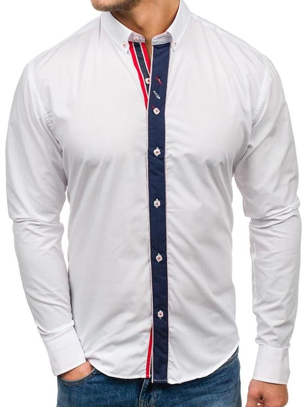 Pánská košile BOLF 5827 bílá