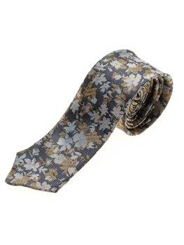 Tmavě modrá pánská elegantní kravata Bolf K109