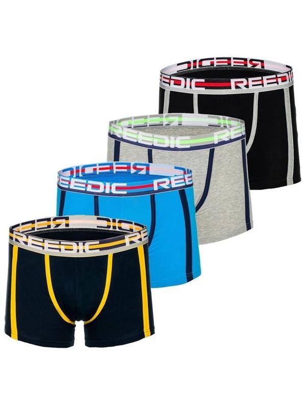 Vícebarevné pánské boxerky Bolf G515 4 PACK