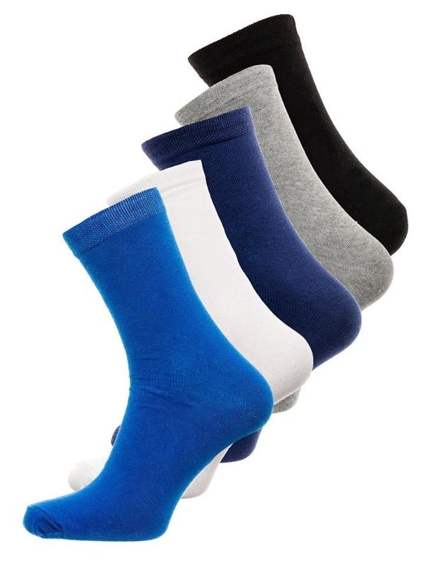 Vícebarevné pánské ponožky Bolf X10003-5P 5 PACK