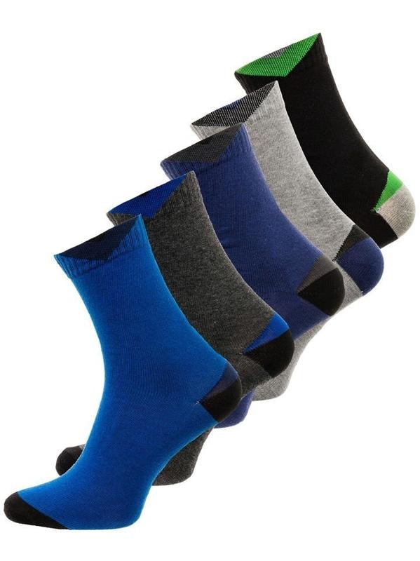 Vícebarevné pánské ponožky Bolf X10011-5P 5 PACK
