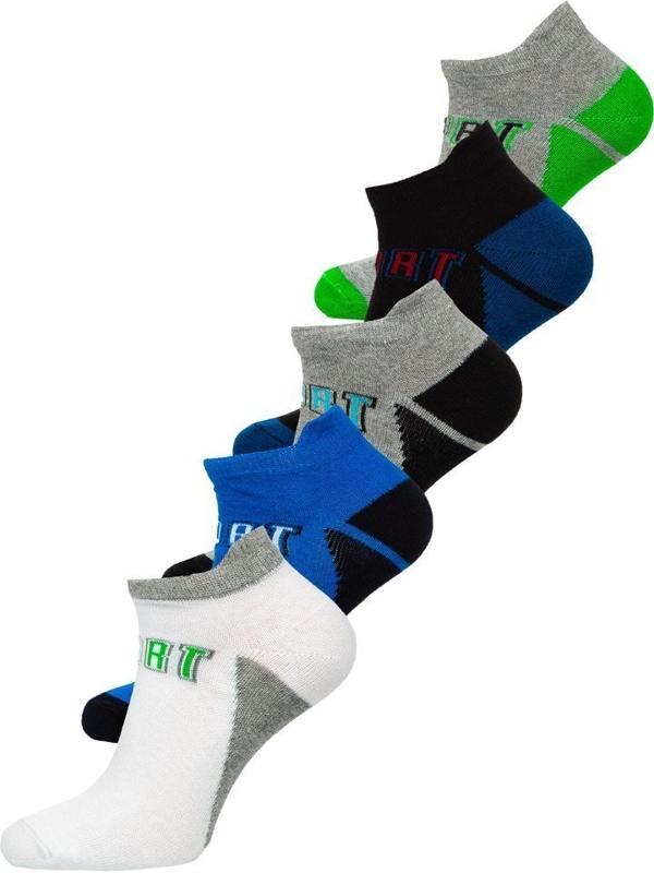 Vícebarevné pánské ponožky Bolf X10033-5P 5 PACK